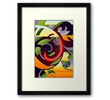 Flower Puzzle Framed Print