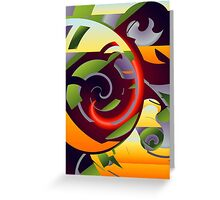 Flower Puzzle Greeting Card