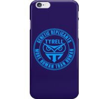 TYRELL CORPORATION - BLADE RUNNER (BLUE) iPhone Case/Skin