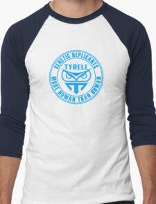TYRELL CORPORATION - BLADE RUNNER (BLUE) Men's Baseball ¾ T-Shirt