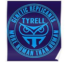 TYRELL CORPORATION - BLADE RUNNER (BLUE) Poster