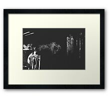 Smoke Plume Framed Print