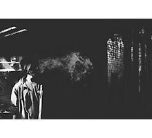 Smoke Plume Photographic Print