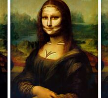 Contouring: Mona Lisa Sticker
