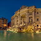 Trevi Fountain, Rome by Erik Schlogl