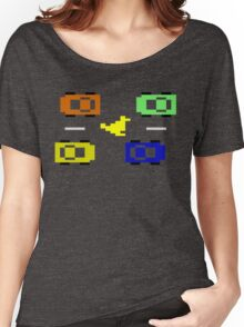 ATARI FREEWAY CAR TRAFFIC Women's Relaxed Fit T-Shirt