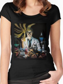 Re-Animator science fiction cover Women's Fitted Scoop T-Shirt