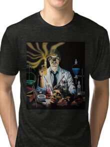 Re-Animator science fiction cover Tri-blend T-Shirt