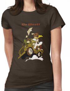 Saiyuki Womens Fitted T-Shirt