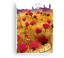Siena skyline Canvas Print