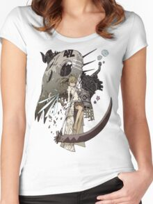 Soul Eater - Maka Albarn Women's Fitted Scoop T-Shirt
