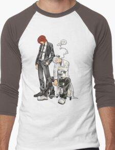 Soul Eater - Spirit Albarn & Franken Stein Men's Baseball ¾ T-Shirt