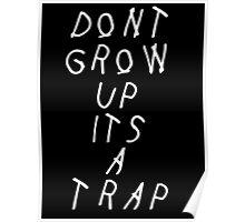 YUNG LEAN / TRAP (Black) Poster