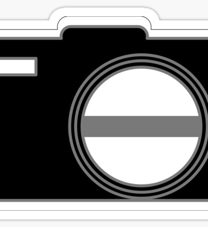 Shutterbug-Black Sticker