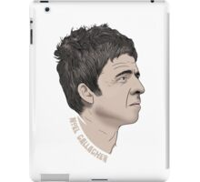 Noel Gallagher Illustrated Portrait iPad Case/Skin