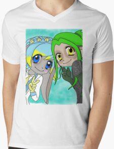 asura sisters Mens V-Neck T-Shirt