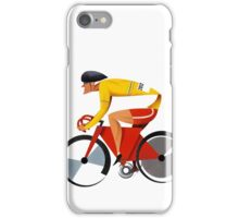 Solo Cyclist from UCI Poster iPhone Case/Skin