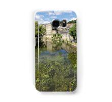 Abbey Mill, Bradford on Avon, Wiltshire, United Kingdom. Samsung Galaxy Case/Skin