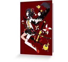 Touhou - Aya Shameimaru Greeting Card