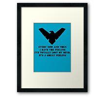 Nightwing 2 Framed Print