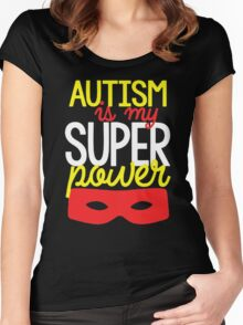 Autism Awareness Women's Fitted Scoop T-Shirt