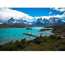Salto Chico, Patagonia, Chile, Torres del Paine Photographic Print