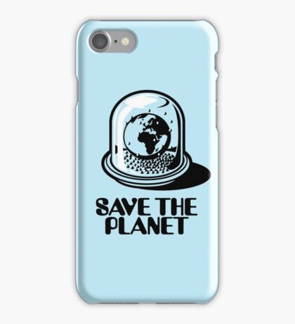 World Snow Globe - Save the Planet iPhone Case/Skin