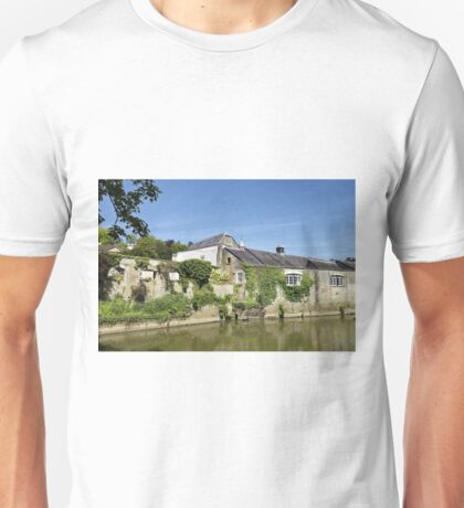 The Town of Bradford on Avon, Wiltshire, United Kingdom. Unisex T-Shirt