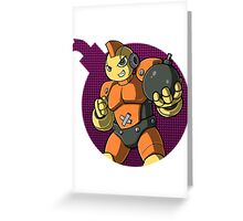 Bombman! Greeting Card