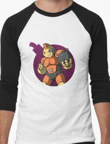 Bombman! Men's Baseball ¾ T-Shirt