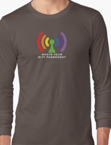 Bi-Fi (DARK BG) Long Sleeve T-Shirt