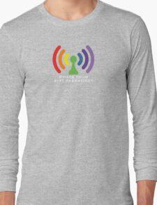 Bi-Fi (DARK BG) Long Sleeve T-Shirt