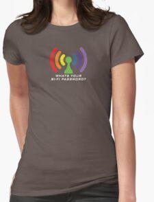 Bi-Fi (DARK BG) Womens Fitted T-Shirt