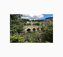 The Town Bridge, Bradford on Avon, Wiltshire, United Kingdom. Unisex T-Shirt