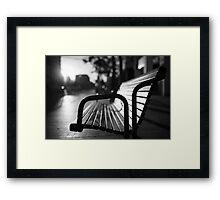 parallels Framed Print