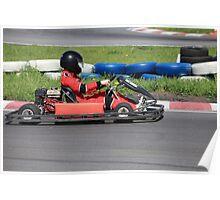 Go-cart Race Poster