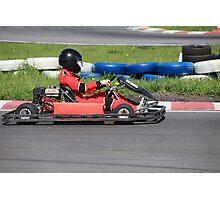 Go-cart Race Photographic Print