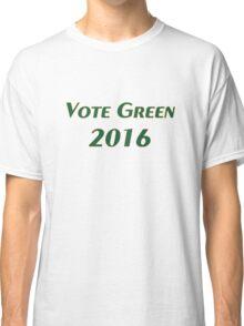 Vote Green 2016 Classic T-Shirt