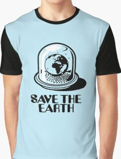 World Snow Globe - Save the Earth Graphic T-Shirt