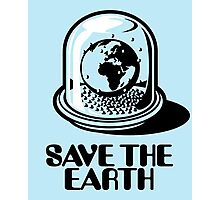 World Snow Globe - Save the Earth Photographic Print