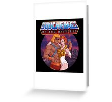 Douchebags of the Universe Greeting Card
