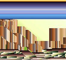 City Dusk by pennydigital