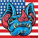 Patriotic Bat by Madison Cowles