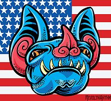 Patriotic Bat by Madison Cowles