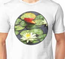Water Lily Pond in Autumn Unisex T-Shirt