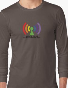 Bi-Fi (LIGHT BG) Long Sleeve T-Shirt