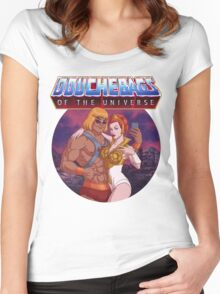 Douchebags of the Universe Women's Fitted Scoop T-Shirt