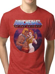 Douchebags of the Universe Tri-blend T-Shirt