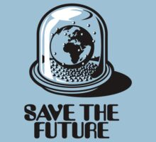 World Snow Globe - Save the Future One Piece - Short Sleeve