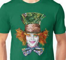 The Mad Hatter (Van Gogh Style) Unisex T-Shirt